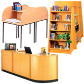 Adityas Furniture: LIBRARY & LAB FURNITURE