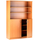 Tall Two Section Cupboard