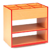 Sc4304 One Horizontal Shelf
