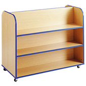 Sc4502 - Double Sided Book Storage Trolley