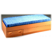 Low One Drawer Bed