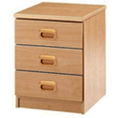 Three Large Drawer Unit