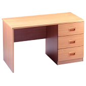 Study Desk With Three Drawer